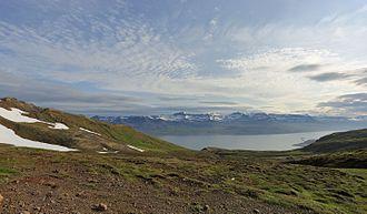 Fjarðabyggð - Image: Icelandic Landscape near Neskaupstaður July 2014