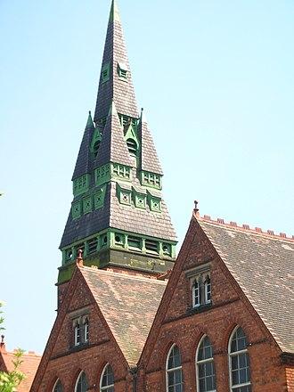 Birmingham board school - The tower of Icknield Street School