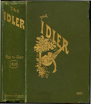 The Idler (1892–1911) - Cover for bound volumes of The Idler 1892 onwards.