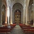 Iglesia de Santiago Apóstol (San Clemente, Cuenca). Nave central.jpg
