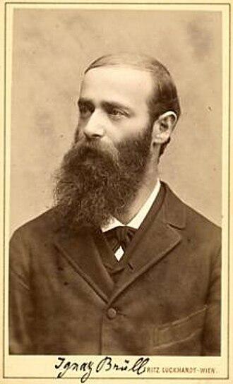 Ignaz Brüll - Ignaz Brüll.