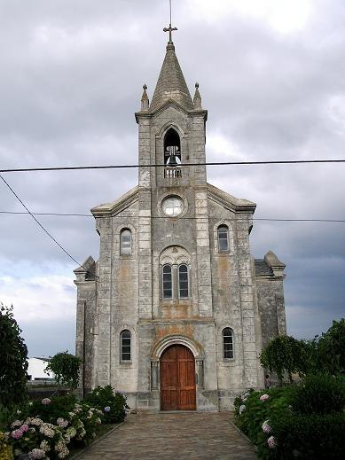 Igrexa parroquial de Rinlo.