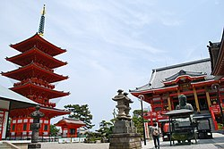 Iinuma-kannon,Enpukuji-temple,Choshi-city,Japan.JPG
