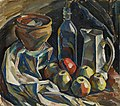 Ilmari Aalto - Still Life with Jug, Pot, Bottle and Apples - A-2012-149 - Finnish National Gallery.jpg