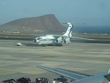 Ilyushin Il-76TD (Volga-Dnepr) at Tenerife South.jpg