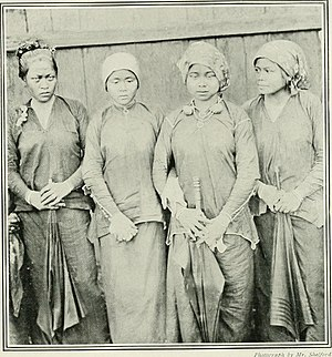 "Kedayan - Image: Image from page 204 of ""Women of all nations, a record of their characteristics, habits, manners, customs and influence;"" (1908) (14769945902)"