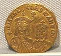 Impero romano d'oriente, teofilo, michele e costantino, emissione aurea, 829-ante 835.JPG
