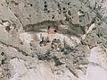 Inca tombs to a mountainside Peru.jpg