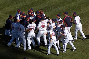 2007 Cleveland Indians season - Image: Indians celebration