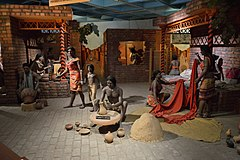 Indus Valley Diorama - Indian Science and Technology Heritage Gallery - National Science Centre - New Delhi 2014-05-06 0806.JPG