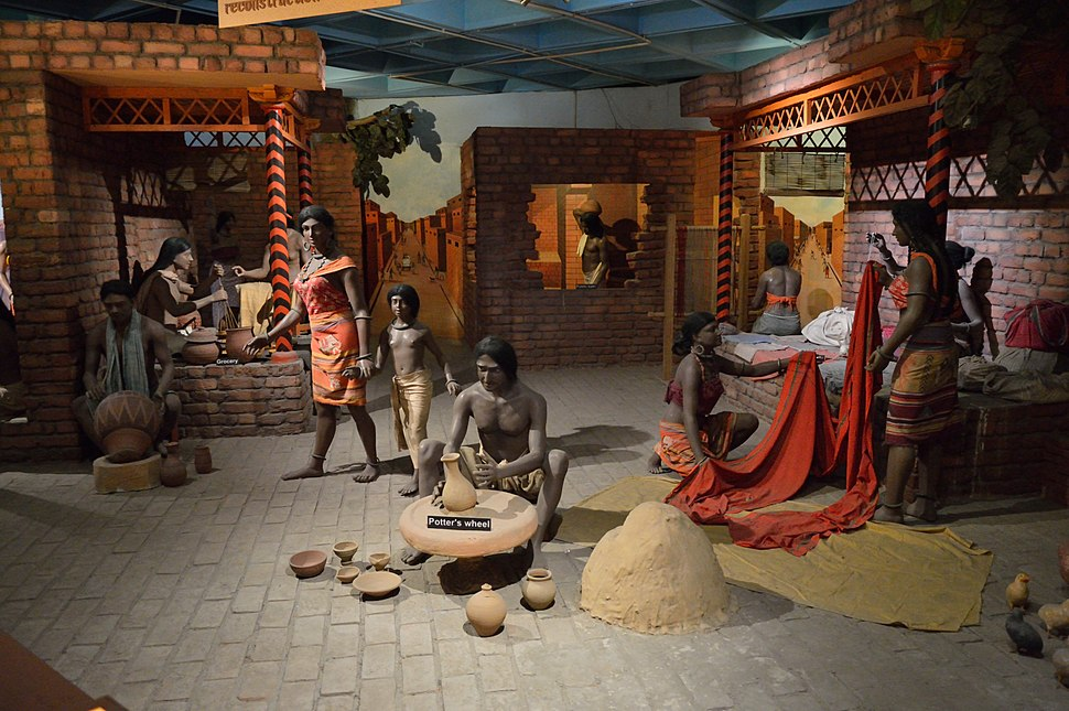 Indus Valley Diorama - Indian Science and Technology Heritage Gallery - National Science Centre - New Delhi 2014-05-06 0806