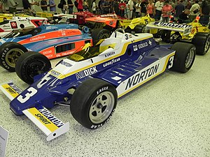 1981 Indianapolis 500 - Image: Indy 500winningcar 1981