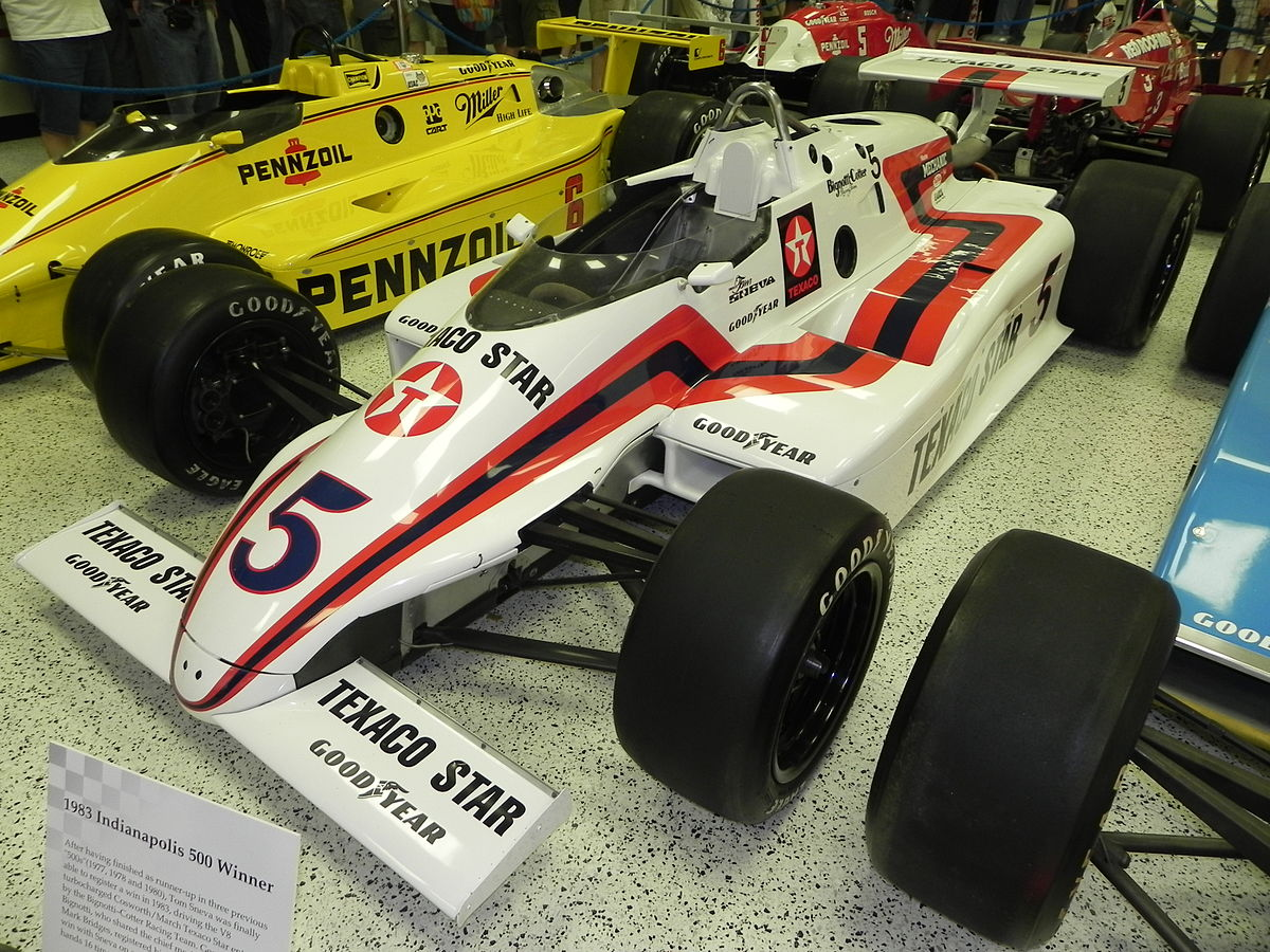 image relating to Printable Indy 500 Starting Grid referred to as 1983 Indianapolis 500 - Wikipedia