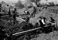 Infanterie beim Bau von Schützengräben - CH-BAR - 3237036.tif