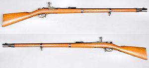 Infanteriegewehr m-1871 Mauser - Tyskland - kaliber 10,95mm - Armémuseum.jpg