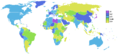 Inflation rate world 2007.png