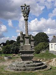 Calvaire de la croix de Lochrist