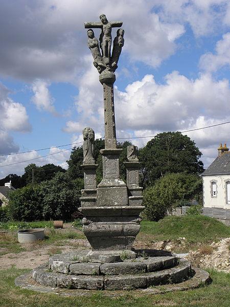 Calvaire de Lochrist, commune d'Inguiniel (56).