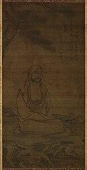 Bodhidarma under Pine Tree