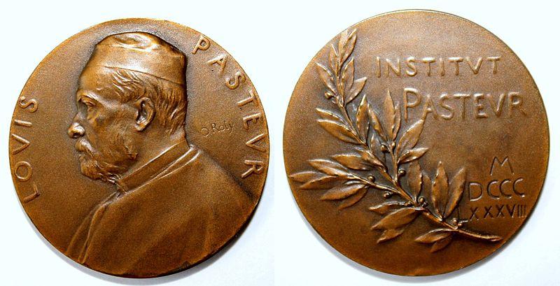 médaille gravée photo