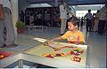 Interactive Area - Dinosaurs Alive Exhibition - Science City - Calcutta 1995-June-July 148.JPG
