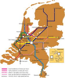 Rail transport in the Netherlands Wikipedia