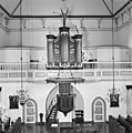 Interieur, overzicht orgel en preekstoel - 20000597 - RCE.jpg