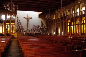 St. Joseph Cathedral, Temuco - Internal View