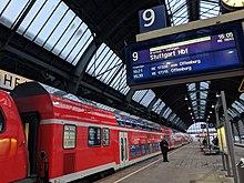 Bahnhof Karlsruhe Gleise