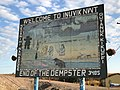 Inuvik, end of the Dempster (48680640758).jpg