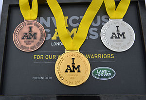 Invictus Games - Medals from London 2014