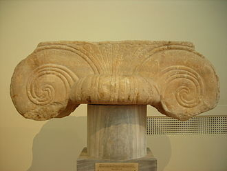 Aeolic order - Ionian capital from Athens