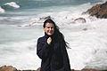 Irène Frain sur l'île de Tromelin 17-05-2007.jpg