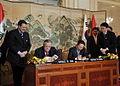 Iraqi President Jalal Talabani visits Korea in February 2009.jpg
