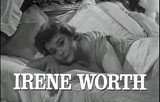Irene Worth American actress