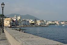 Ischia Ponte vista dal Castello Aragonese