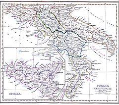 italië sicilië kaart