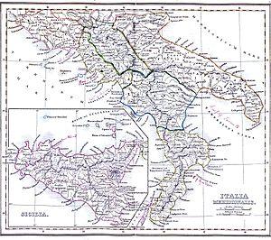 Geografia Italiei Wikipedia