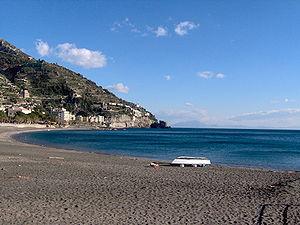 Maiori - Image: Italy Maiori Beach
