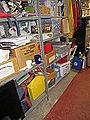 Items on Shelves in Basement.JPG