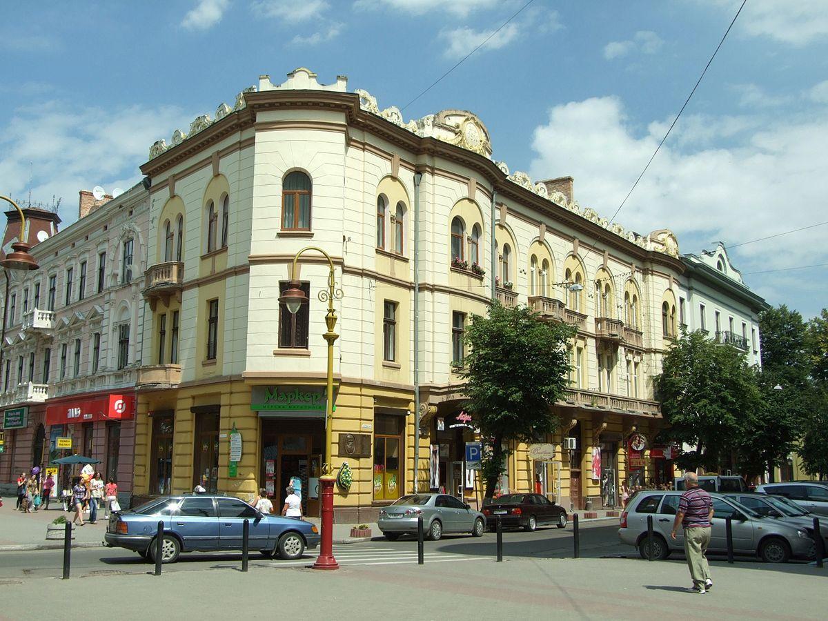 Hrushevsky Street (Ivano-Frankivsk) - Wikipedia