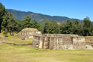 Oxlahuh-Tz'i' - Iximche, from where Oxlahuh-Tz'i' ruled