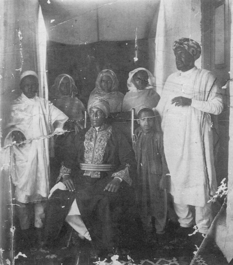 Iyasu in a Muslim Turban