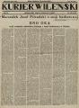 Józef Piłsudski - Dno oka, Kurjer Wileński 1929, nr 80 page01.png