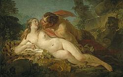 Jean-Baptiste Marie Pierre: Jupiter and Antiope