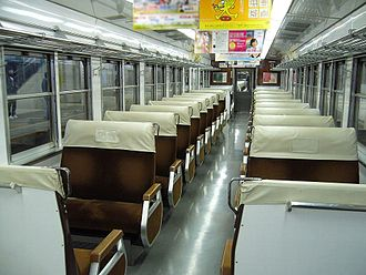 117 series - Interior of a JR Central 117