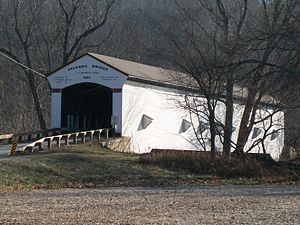 Jackson Covered Bridge - Image: Jackson Bridge 2009