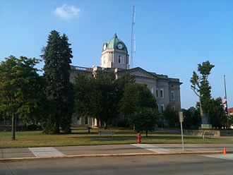 Jackson, Missouri - The Cape Girardeau County courthouse in Jackson, MO
