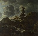 Jacob van Ruisdael (1628-1629-1682) - A Torrent in a Mountainous Landscape - NG987 - National Gallery.jpg
