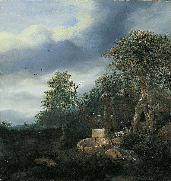 File:Jacob van Ruisdael - Landscape with a Well.jpg